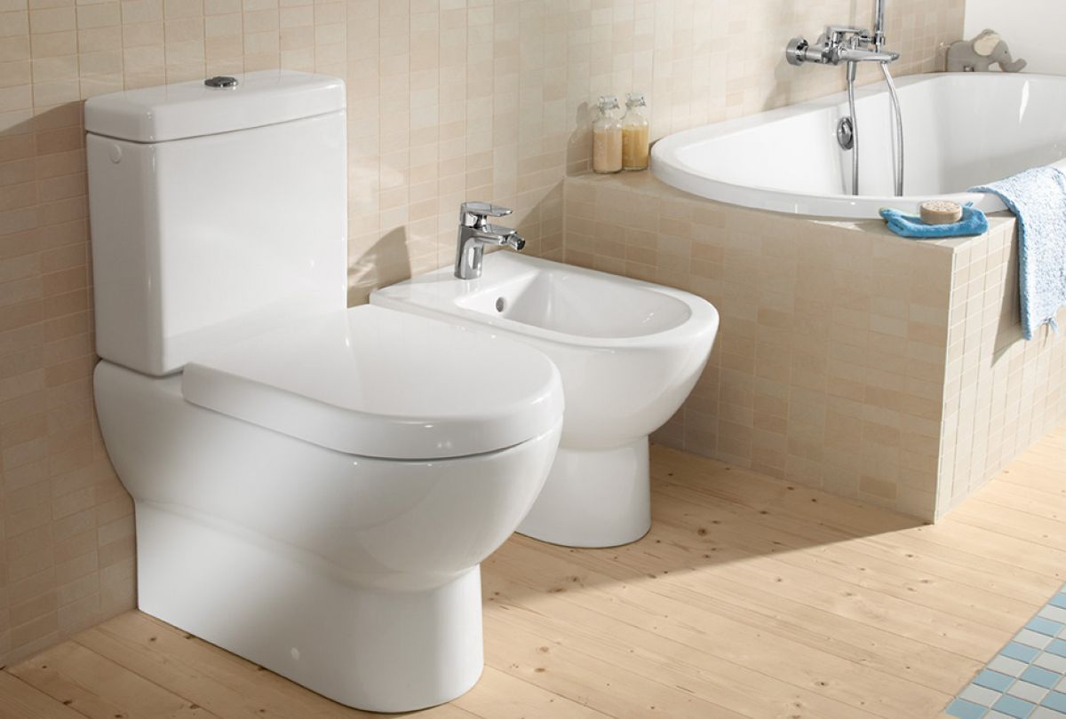 villeroy boch subway close coupled toilet uk bathrooms. Black Bedroom Furniture Sets. Home Design Ideas