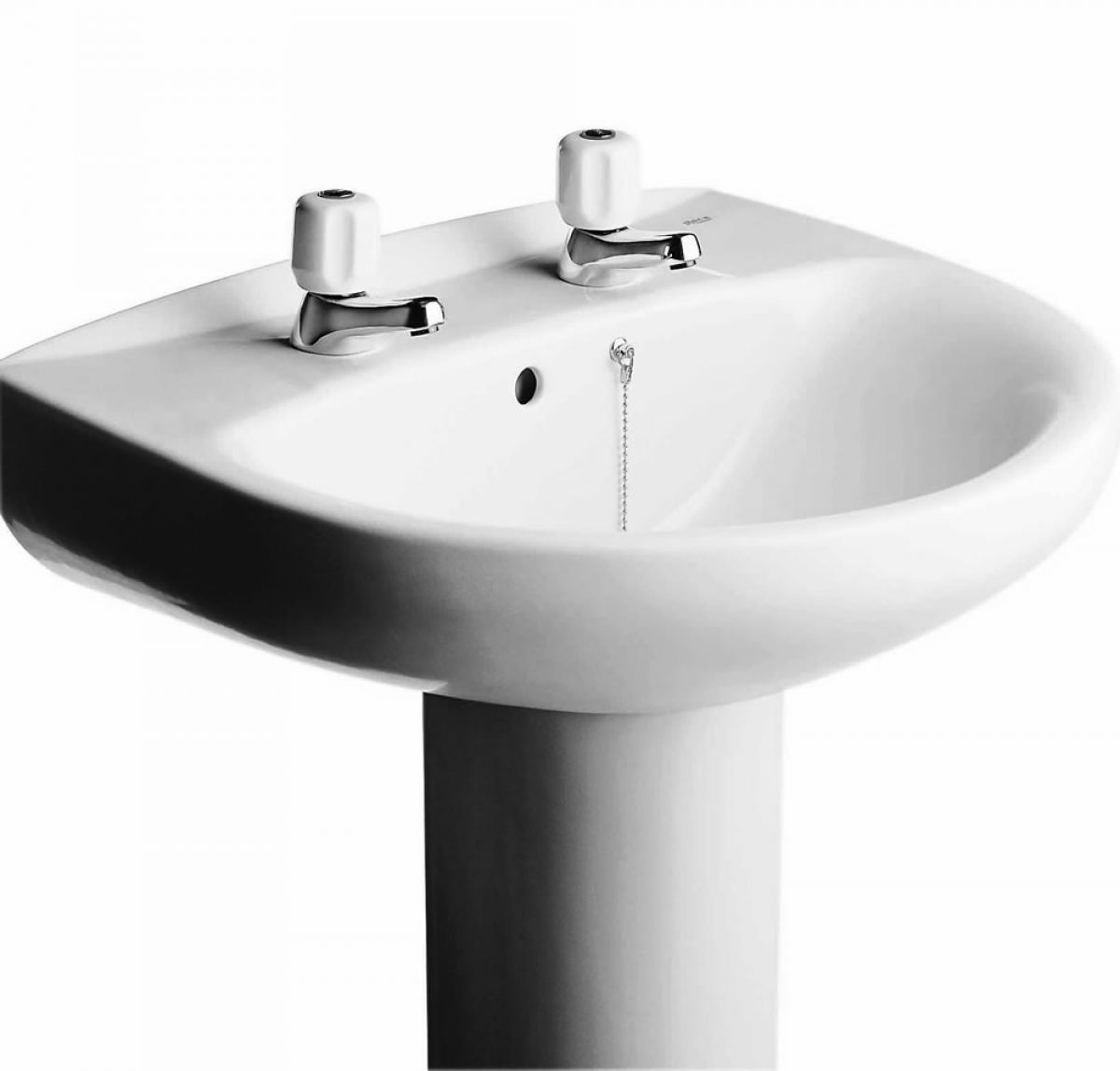 Bathroom Basin roca laura bathroom basin : uk bathrooms