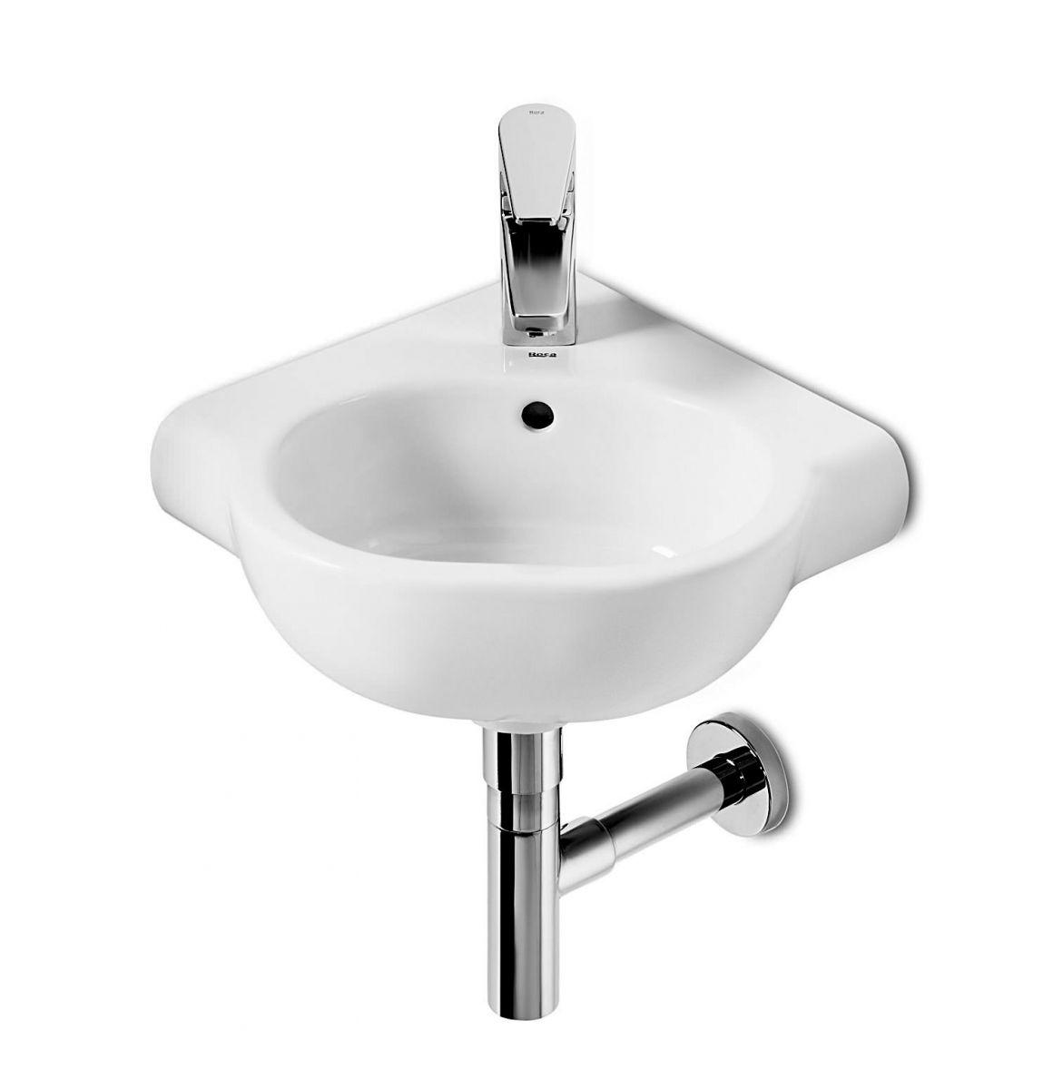 roca meridian n compact corner washbasin - Roca Wash Basin
