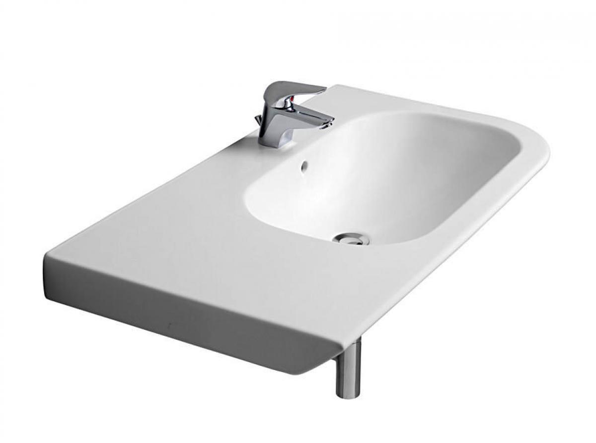 Roca Nexo 900mm Asymmetrical Basin Uk Bathrooms