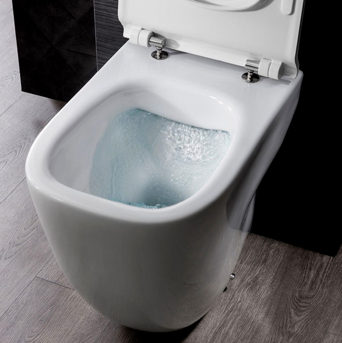 Toilets And Bathrooms: Bauhaus Wild Rimless Back To Wall Toilet : UK Bathrooms