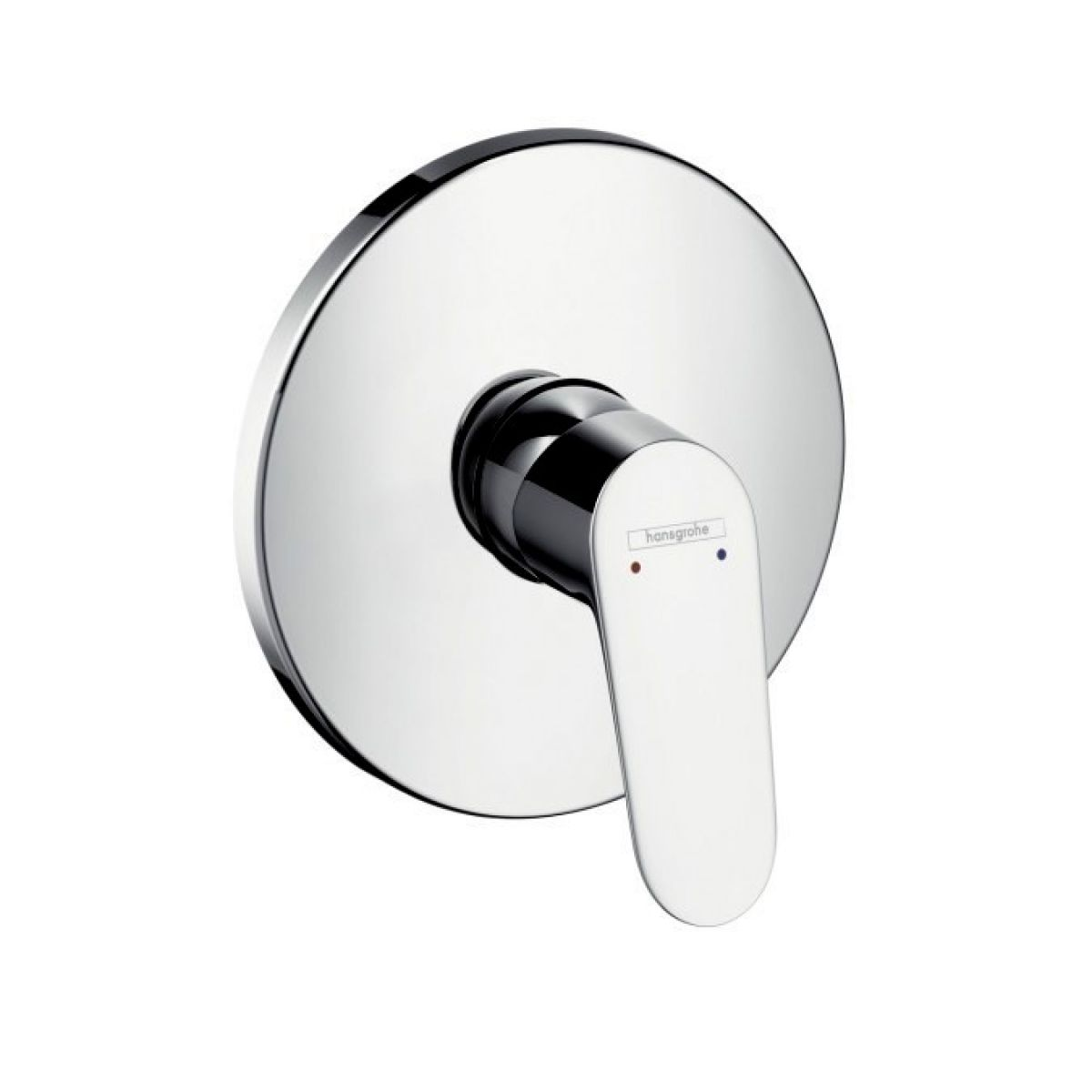 hansgrohe focus concealed shower mixer uk bathrooms. Black Bedroom Furniture Sets. Home Design Ideas