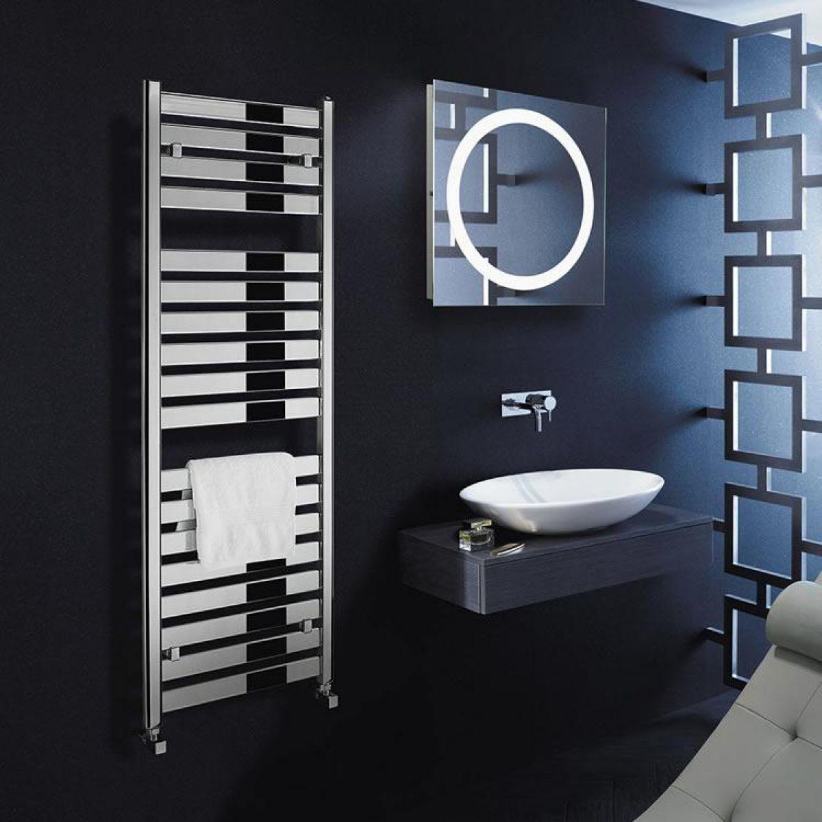 Bauhaus Edge Flat Panel 500 Towel Warming Radiator