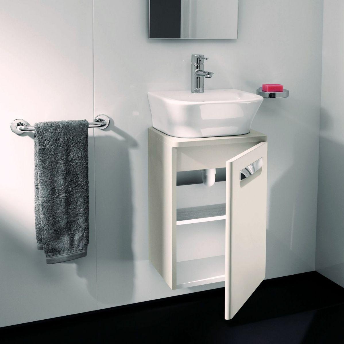 roca the gap n wall hung vanity unit with basin uk bathrooms. Black Bedroom Furniture Sets. Home Design Ideas