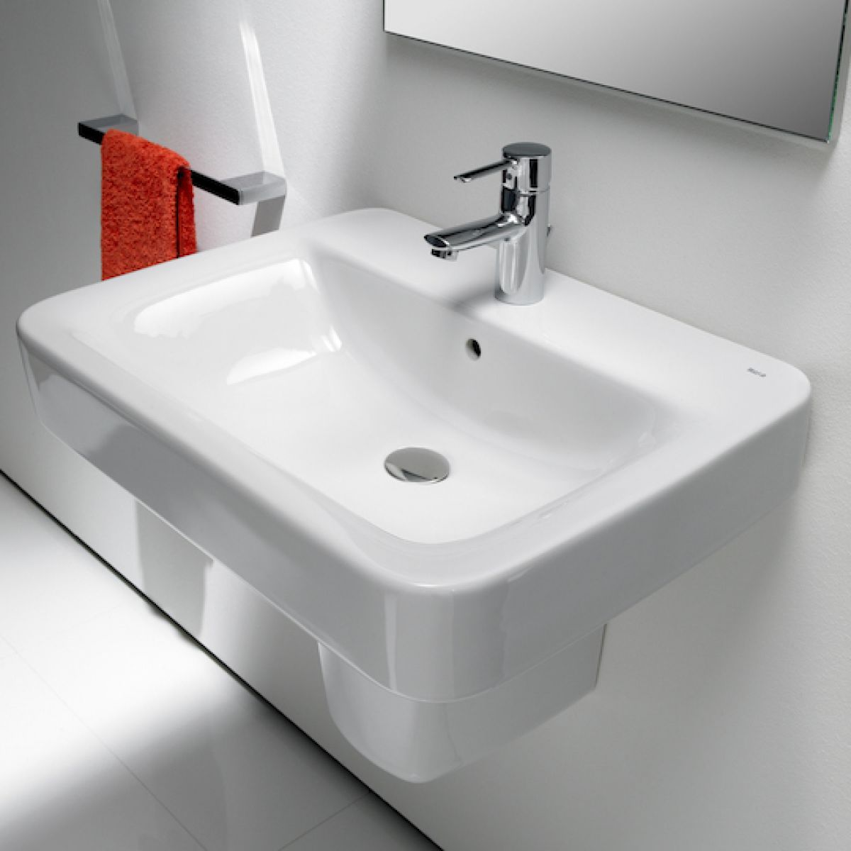 roca bathroom sinks roca senso square bathroom sink uk bathrooms 14235 | 64594