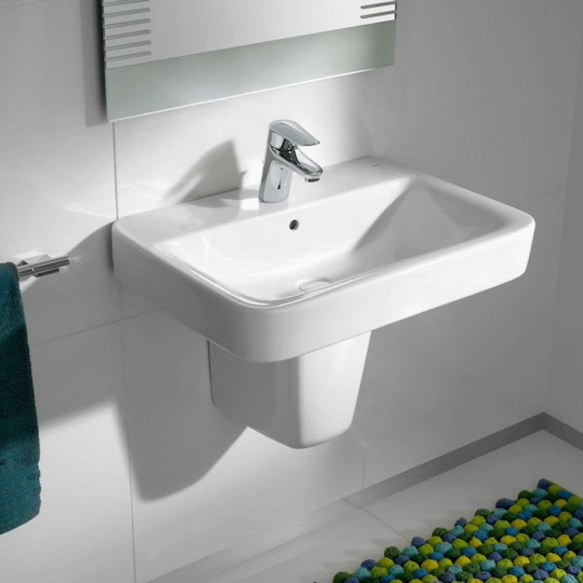 Roca Bathroom Accessories Roca Senso Square Basin Uk Bathrooms