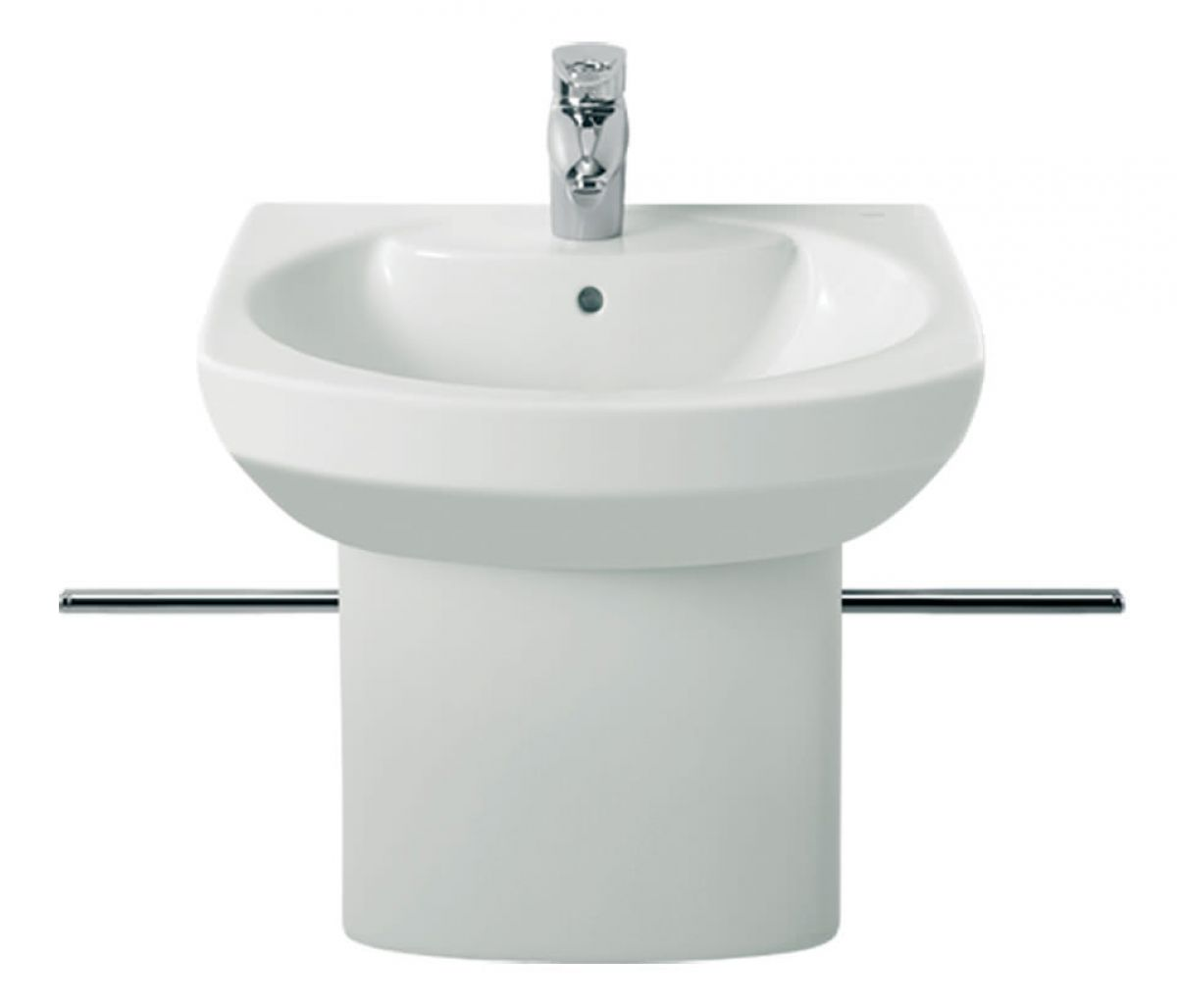 Roca senso compact cloakroom basin with integrated trap for Roca cloakroom basin