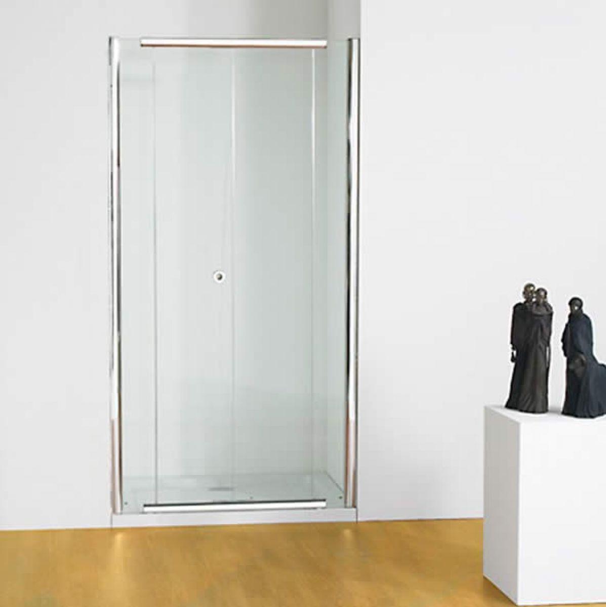 Bi fold shower door will give your bathroom an upscale look bath - Kudos Infinite Bi Fold Shower Door Uk Bathrooms