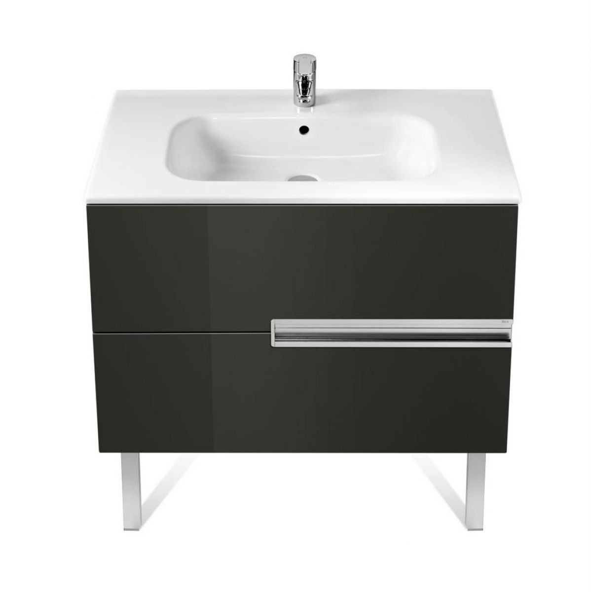 Roca Victoria N 2 Drawer Vanity Unit With Basin Uk Bathrooms