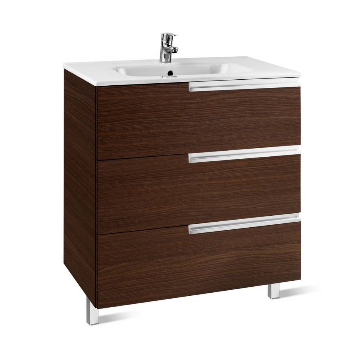Roca Victoria N 3 Drawer Vanity Unit With Basin Uk Bathrooms