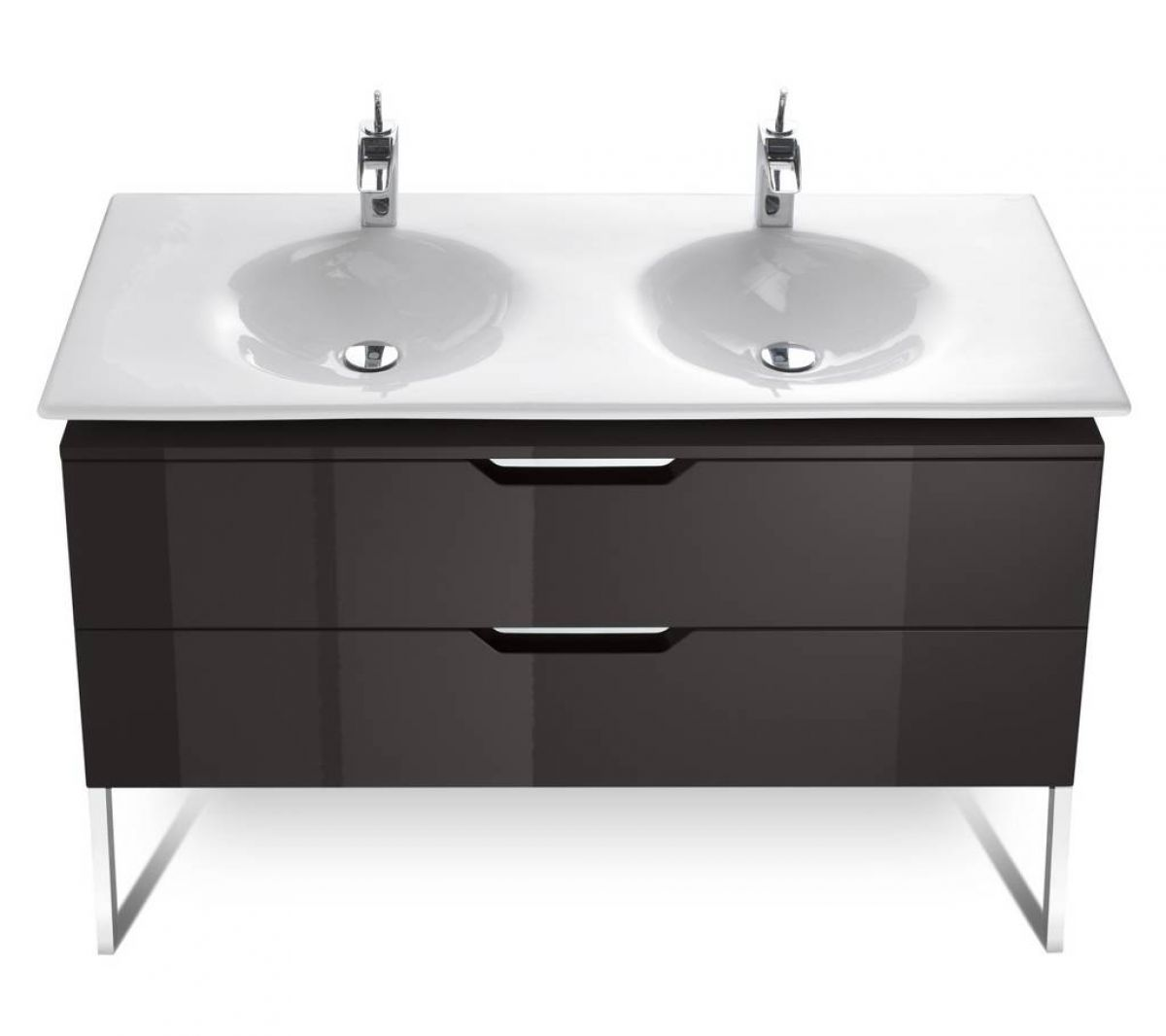 roca kalahari 1200mm double basin furniture unit uk