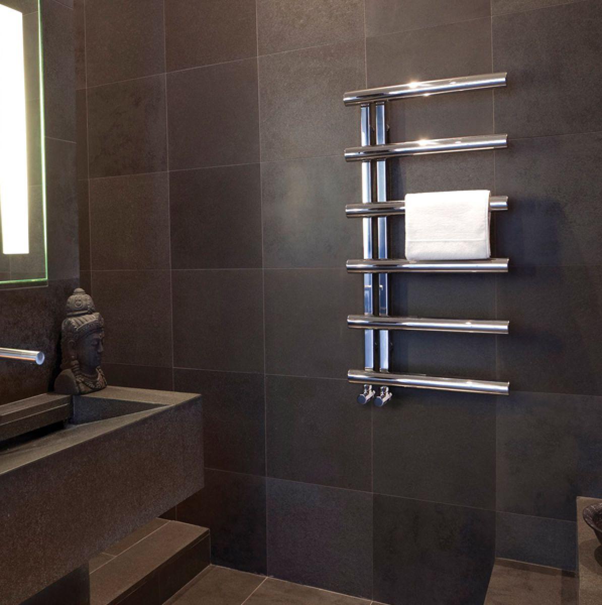 bisque chime towel radiator uk bathrooms. Black Bedroom Furniture Sets. Home Design Ideas