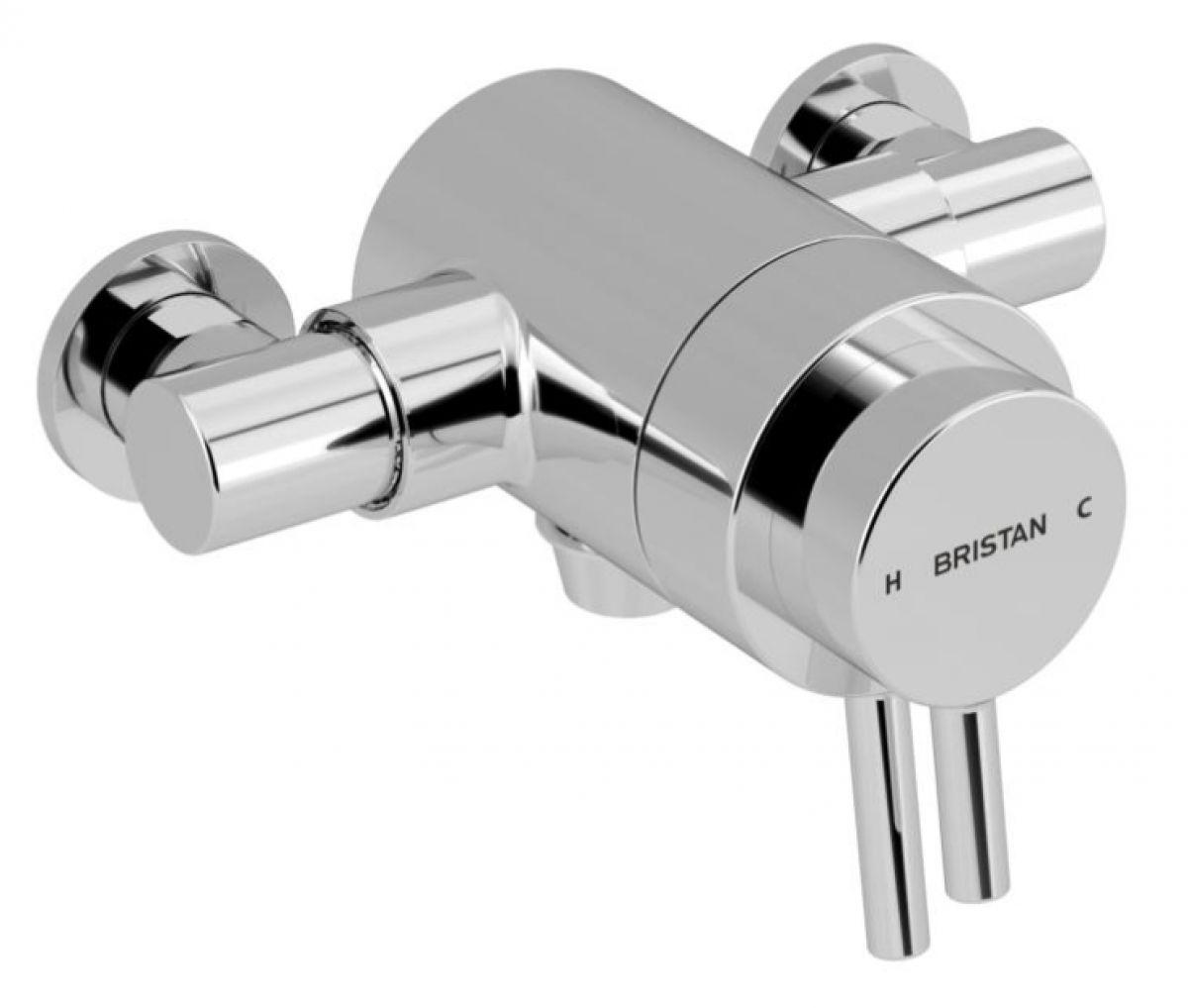 Prism Exposed Concentric Chrome Shower Valve Uk Bathrooms