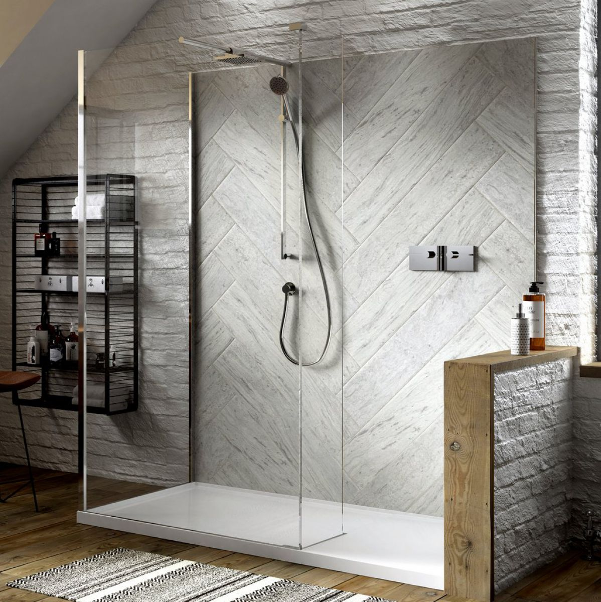 Matki Boutique Corner Walk In Shower Enclosure Uk Bathrooms