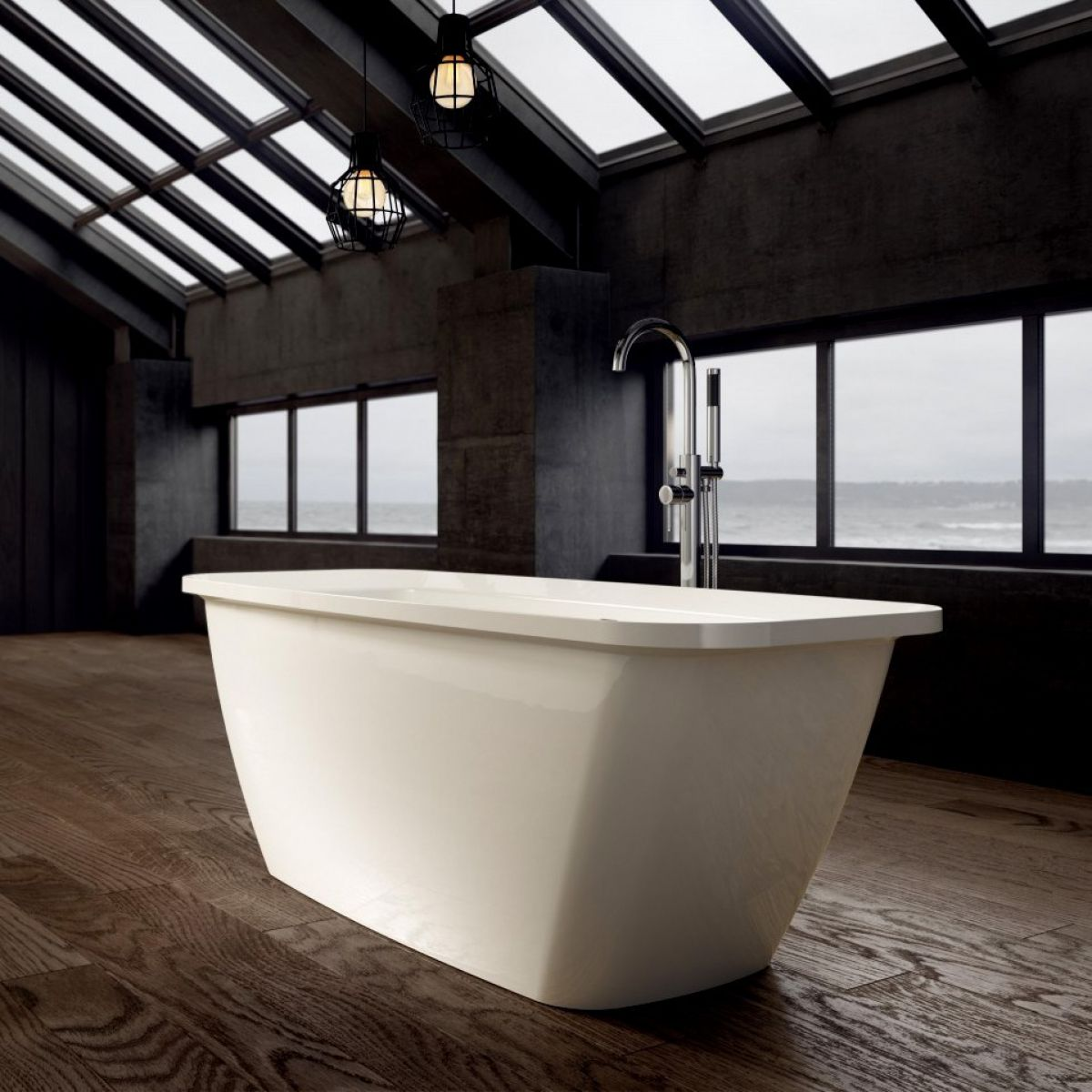 Ramsden & Mosley Orkney Modern Freestanding Bath : UK Bathrooms