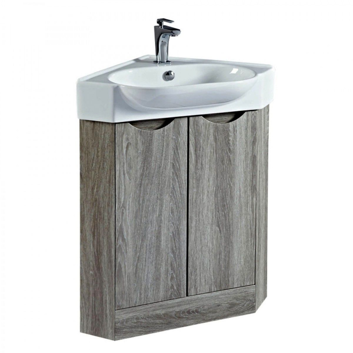 Phoenix Dakota Corner Vanity Unit With