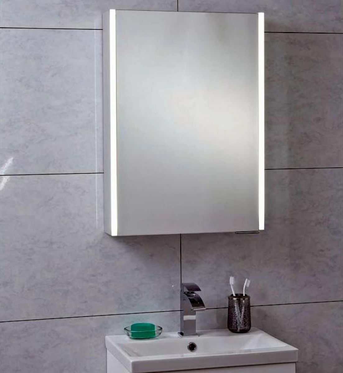 phoenix saturn bathroom mirror cabinet uk bathrooms