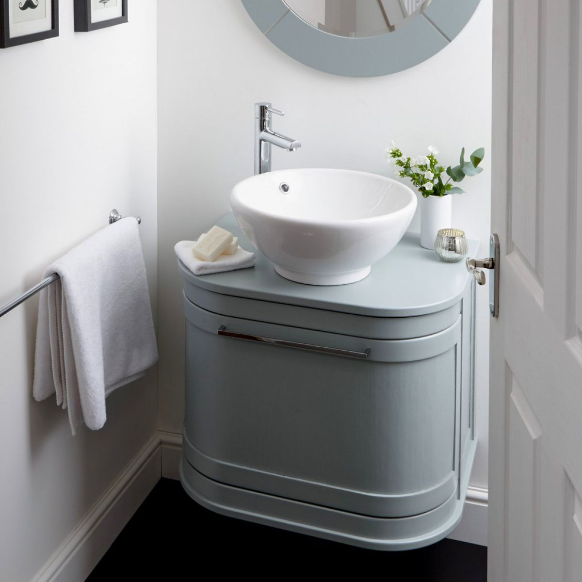 Imperial Carlyon Roseland 2 Drawer Vanity Unit with Vessel Bowl