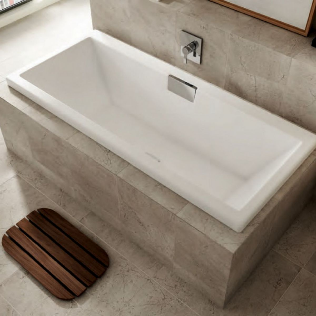 Carron Celsius Double Ended Bath 1800 x 800mm : UK Bathrooms