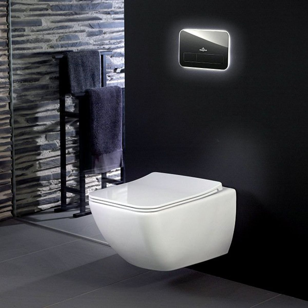 villeroy boch venticello rimless wall hung toilet uk bathrooms. Black Bedroom Furniture Sets. Home Design Ideas
