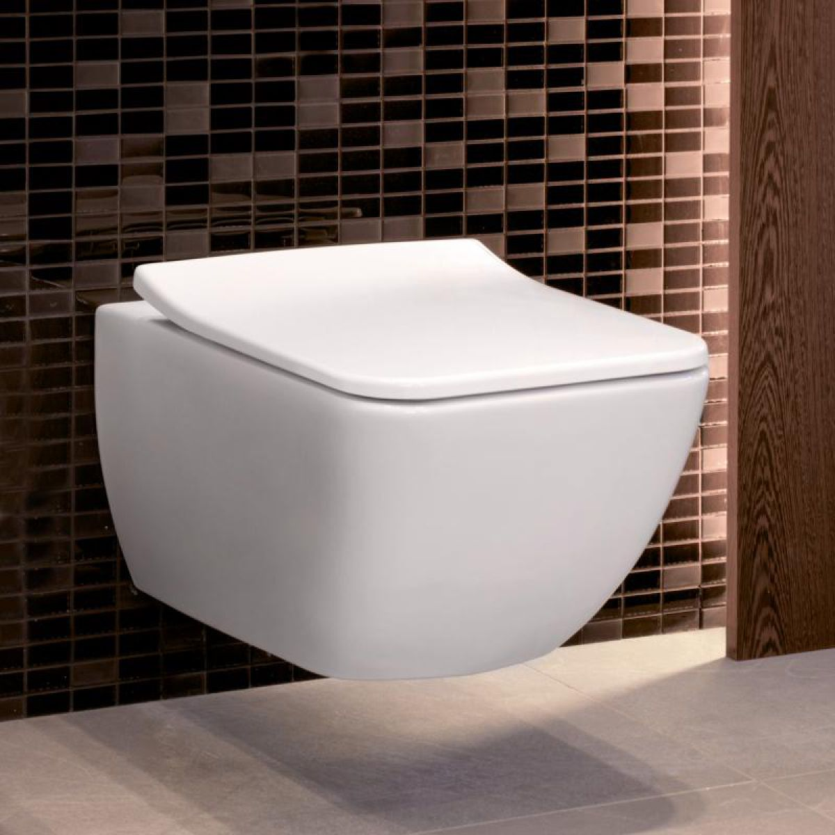 villeroy u0026 boch venticello rimless wall hung toilet - Wall Hung Toilet