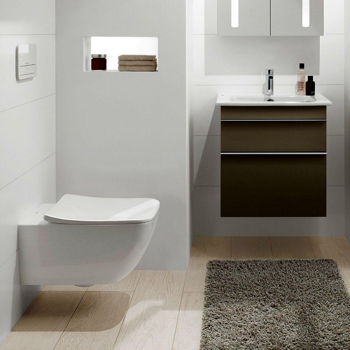 villeroy boch venticello rimless wall hung toilet uk bathrooms. Black Bedroom Furniture Sets. Home Design Ideas