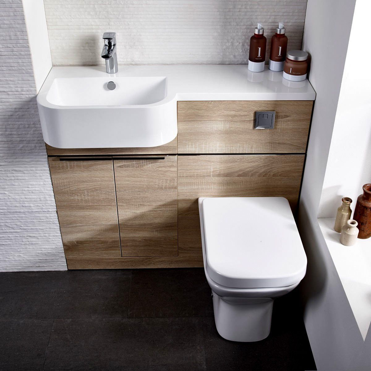 origins match compact cloakroom vanity unit uk bathrooms rh ukbathrooms com Bathroom Vanity Unit Wall bathroom cloakroom vanity units