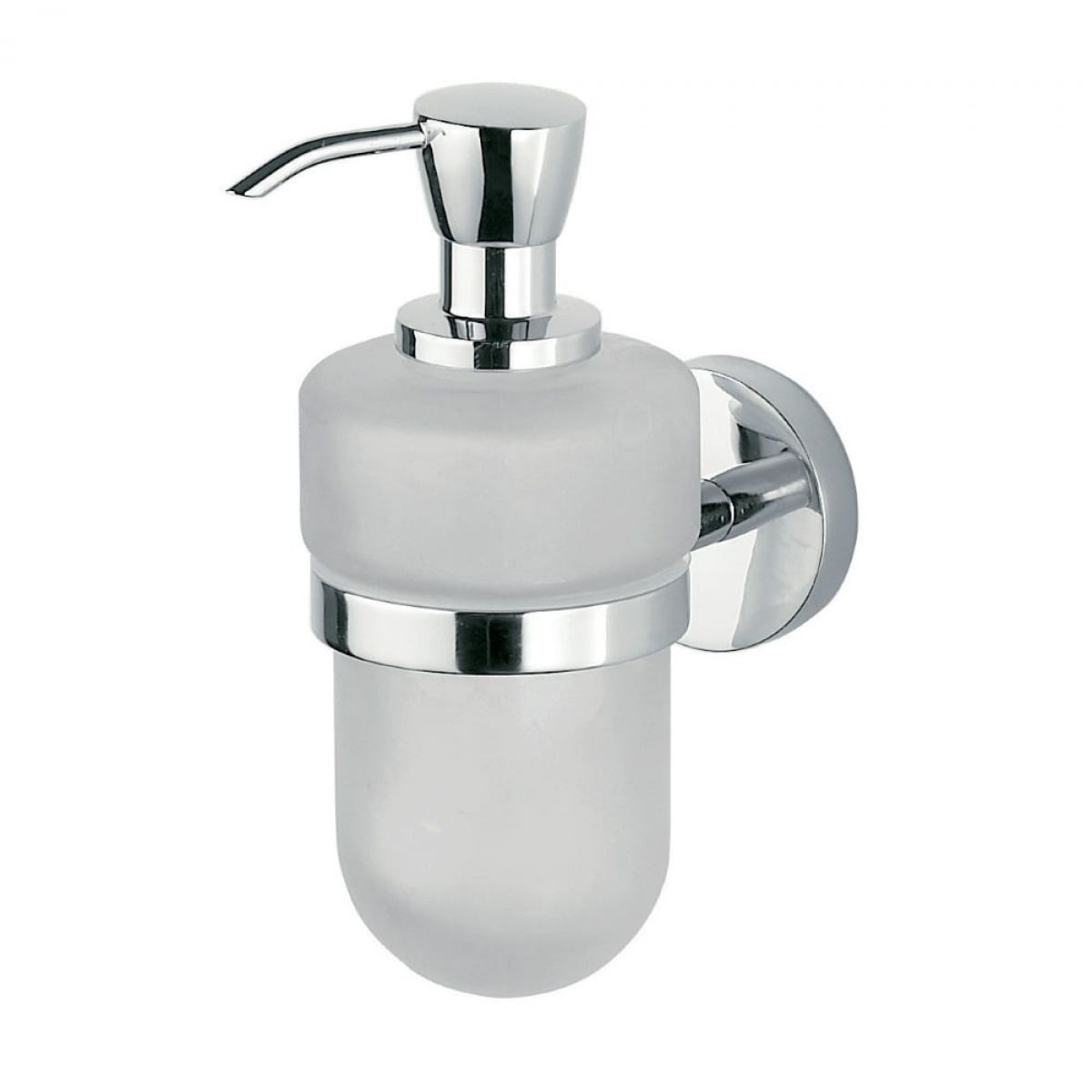 Inda Forum Wall Mounted Liquid Soap Dispenser 7 X 17h X 13cm Uk Bathrooms