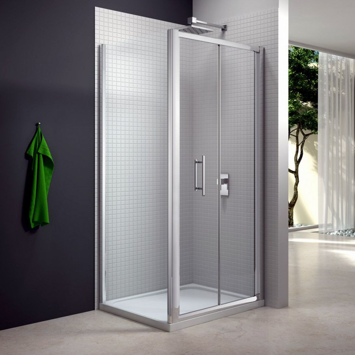 Merlyn Series 6 Bi Fold Shower Door Uk Bathrooms