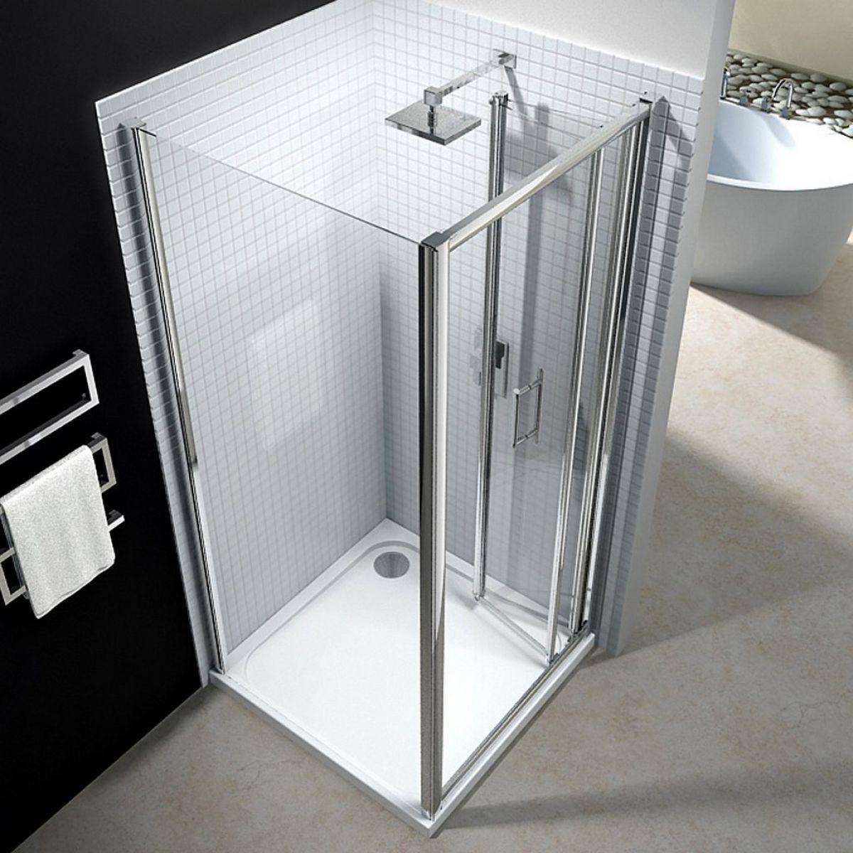 Bi Fold Shower Door Excellent Custom Frameless Bifold Shower Screen