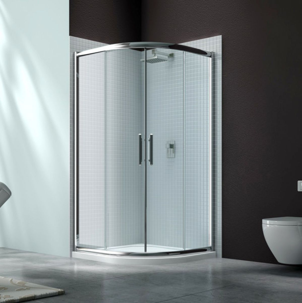Merlyn Series 6 Double Door Quadrant Shower Enclosure : UK Bathrooms