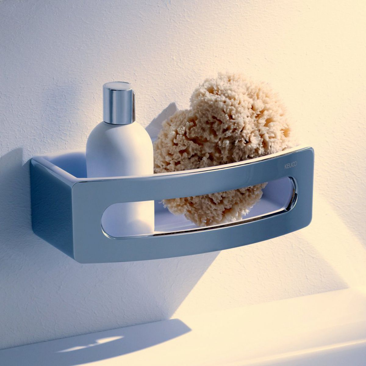 Keuco Elegance Shower Basket : UK Bathrooms