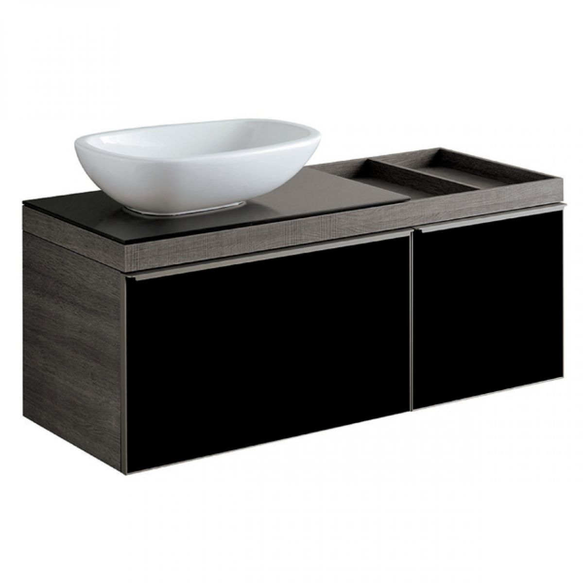 Geberit Citterio Vanity Unit With Two Drawers And Lay On