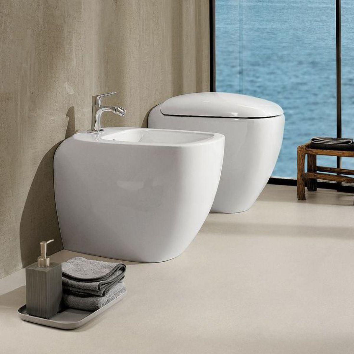 Geberit Citterio Back To Wall Bidet : UK Bathrooms