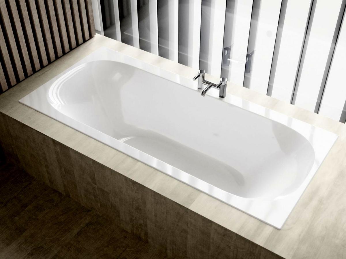 Geberit Acanto Double Ended Bath : UK Bathrooms