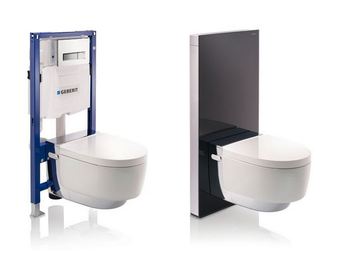 charming gerberit toilet #6: ... Geberit Aquaclean Mera Classic Shower Toilet ...