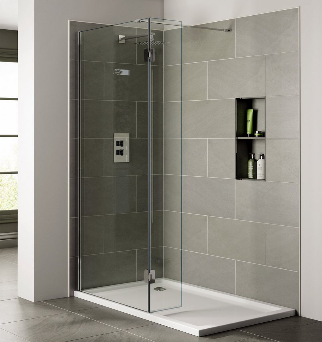 sommer rooms enclosures return room with glass store wetroom online wet screen detail shower panel screens