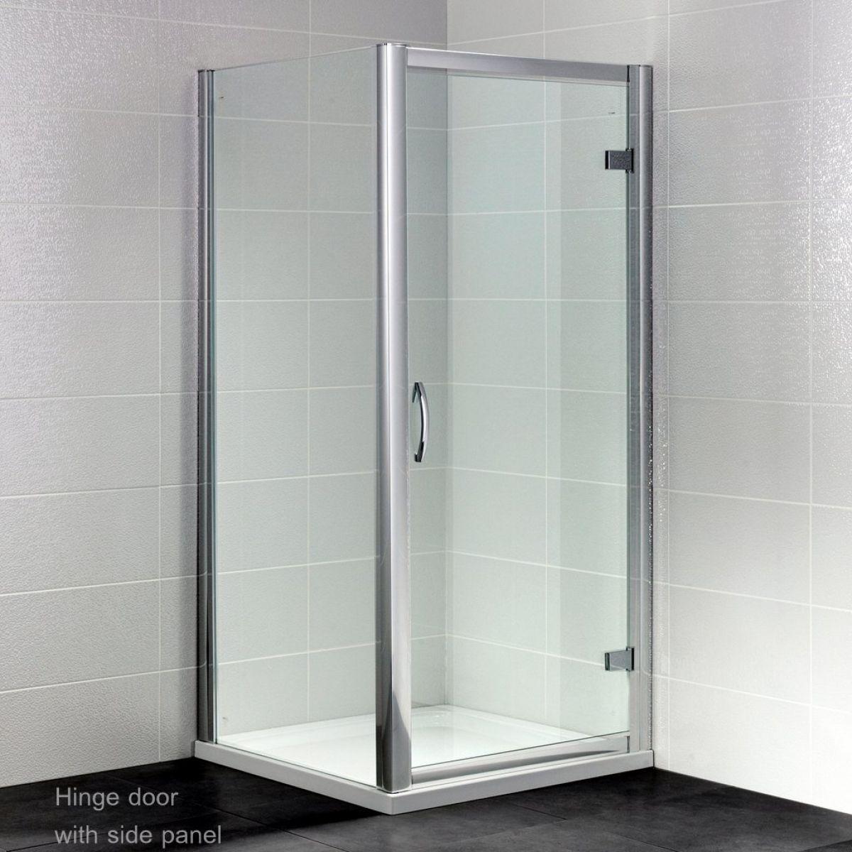 April Identiti Hinged Door Shower Enclosure