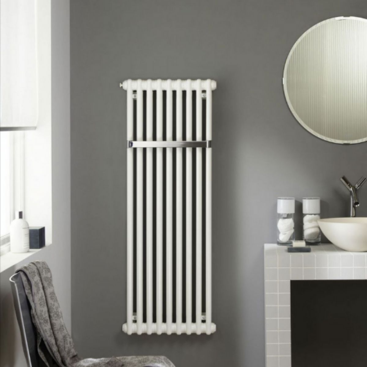 zehnder charleston bar cloakroom radiator uk bathrooms. Black Bedroom Furniture Sets. Home Design Ideas