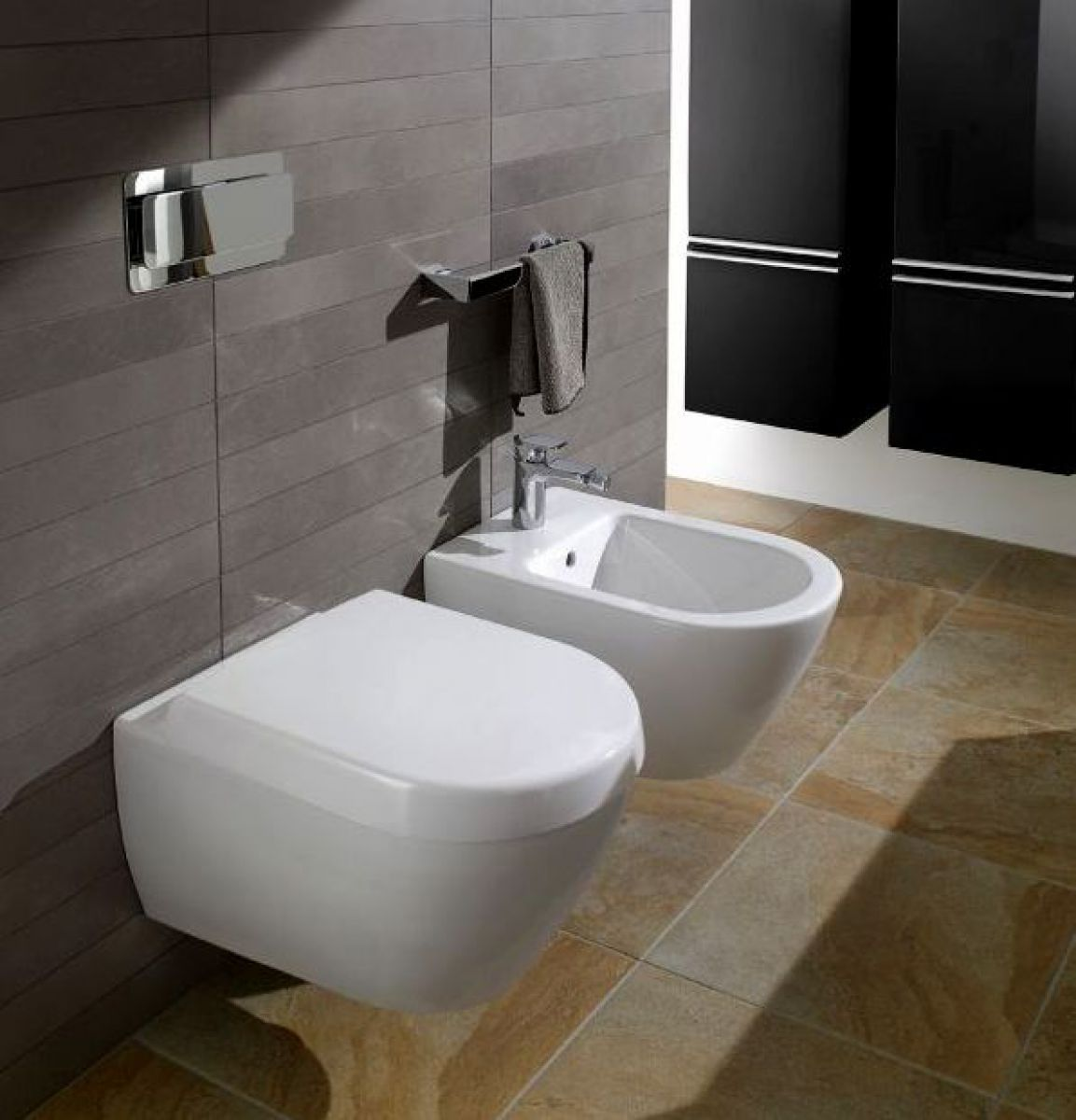 villeroy boch soho wall mounted toilet uk bathrooms. Black Bedroom Furniture Sets. Home Design Ideas