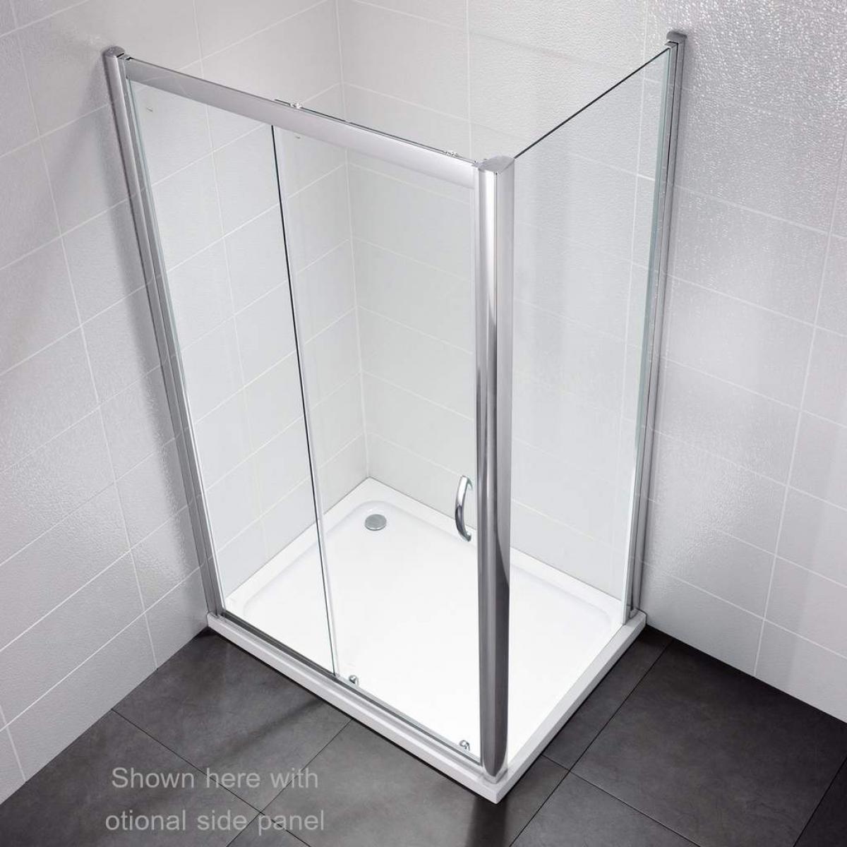 April Identiti2 Sliding Door Shower Enclosure : UK Bathrooms