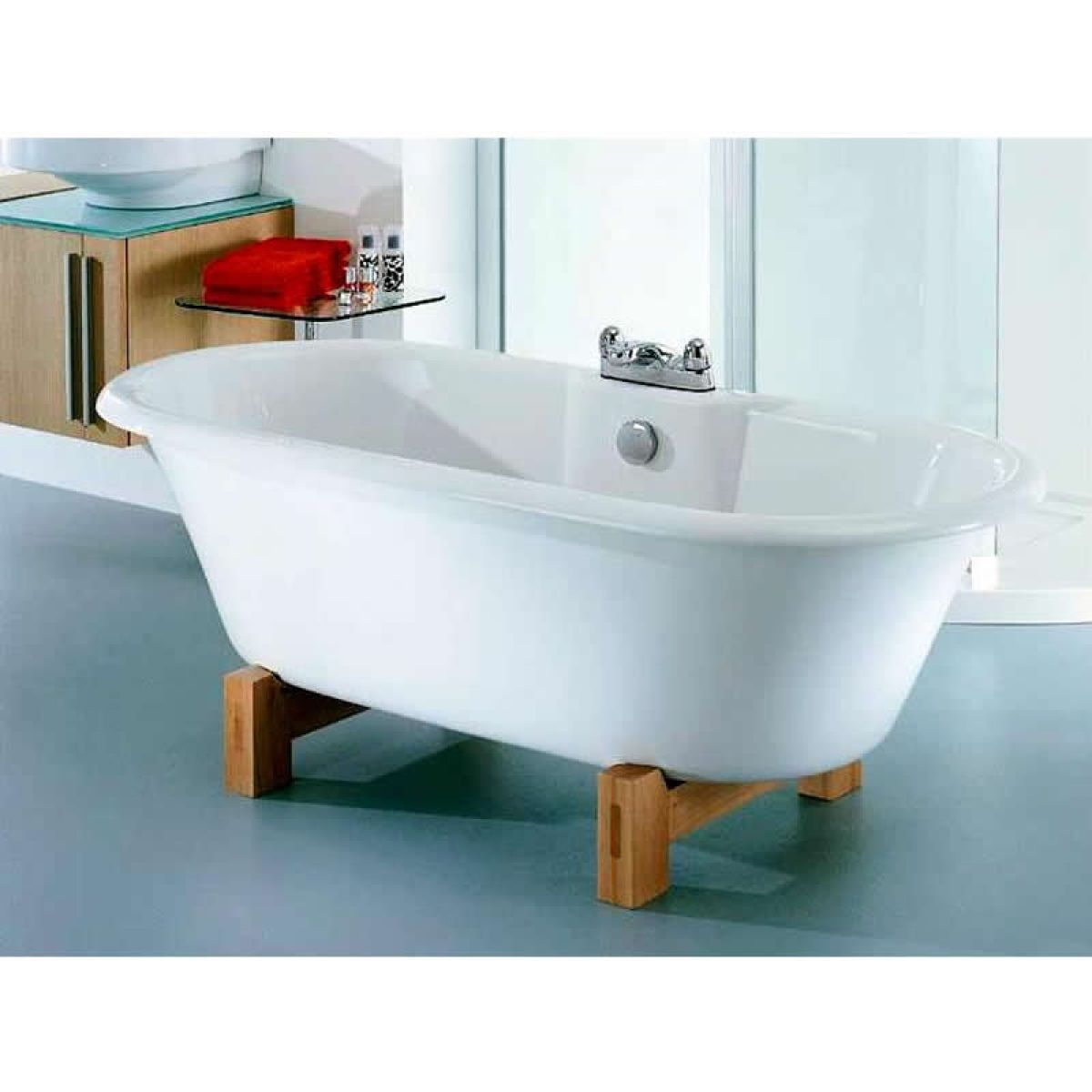 Old Fashioned Roll Top Baths Collection - Bathroom with Bathtub ...