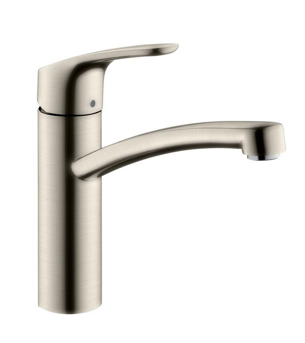 Hansgrohe Kitchen Taps >> Hansgrohe Focus 160 Kitchen Mixer Tap : UK Bathrooms