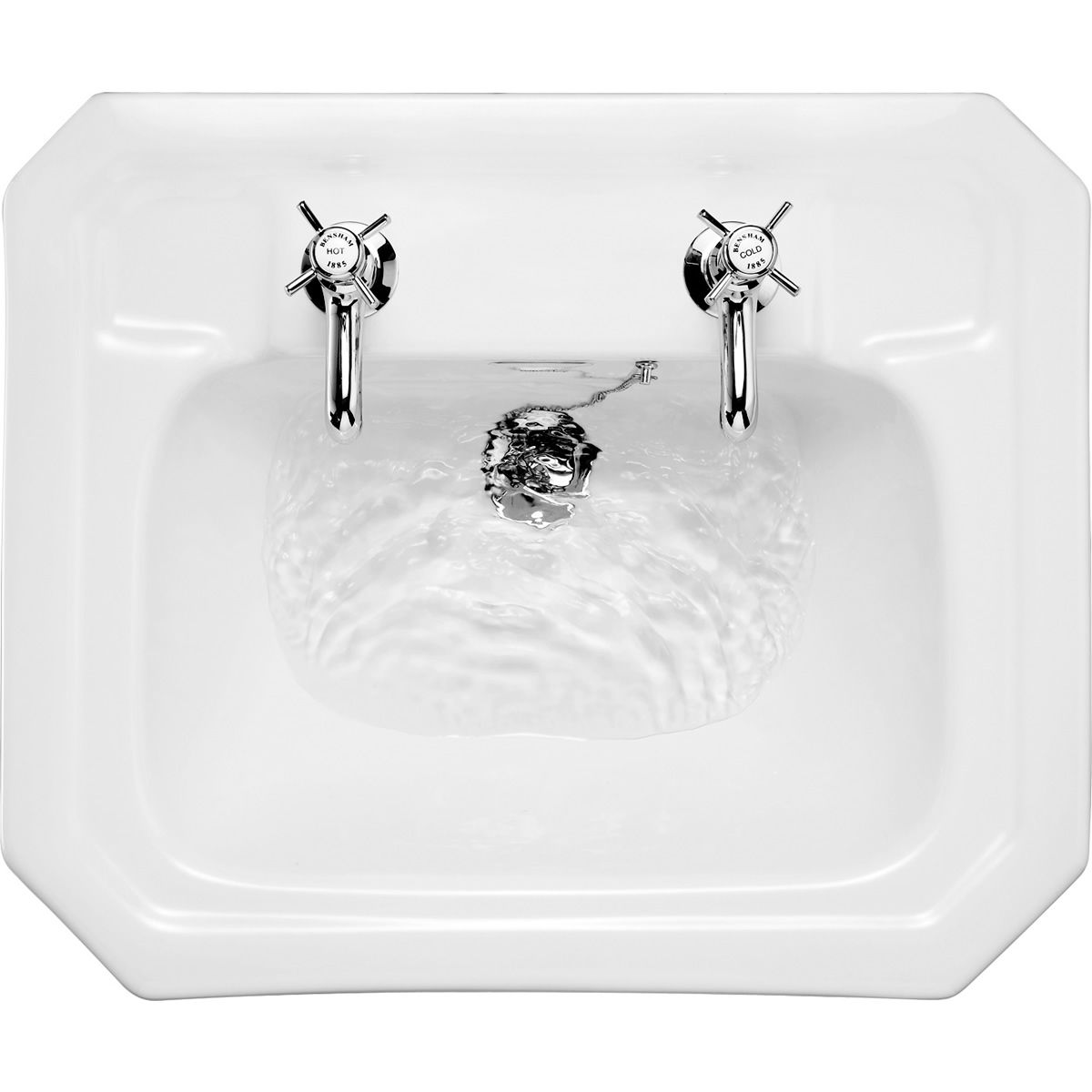 Burlington Victorian Bathroom Basin : UK Bathrooms