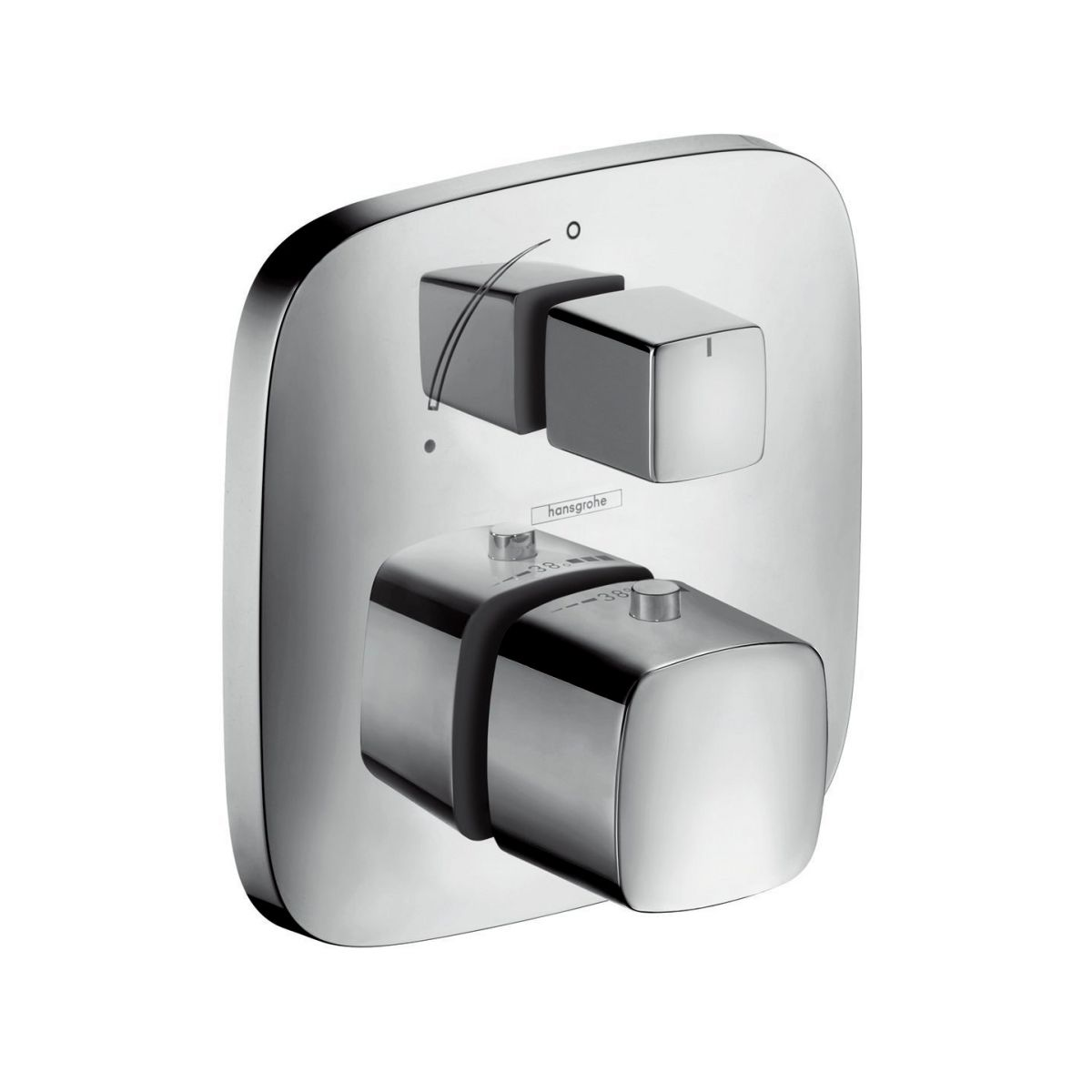 hansgrohe shower valve. Hansgrohe PuraVida Thermostatic Shower Mixer Valve With Diverter B