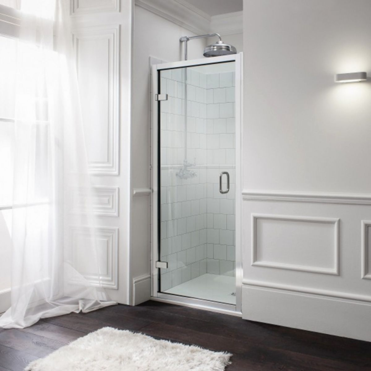 Simpsons Classic Hinged Door Shower Enclosure : UK Bathrooms