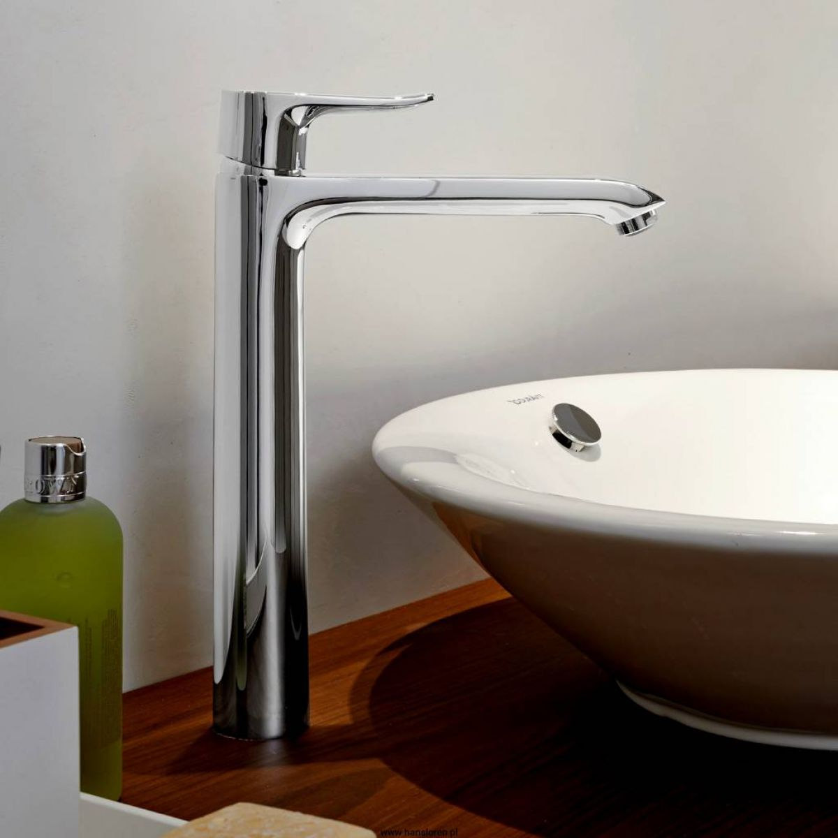 hansgrohe metris single lever tall basin mixer 260 uk bathrooms. Black Bedroom Furniture Sets. Home Design Ideas