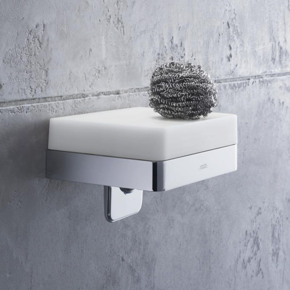 AXOR Universal Soap Dispenser With Shelf : UK Bathrooms