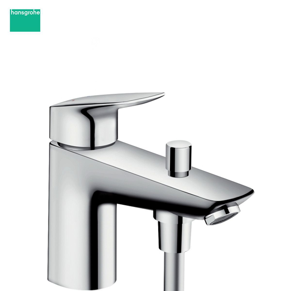 hansgrohe logis single lever bath tap with optional shower mixer hansgrohe logis single lever bath tap with optional shower mixer