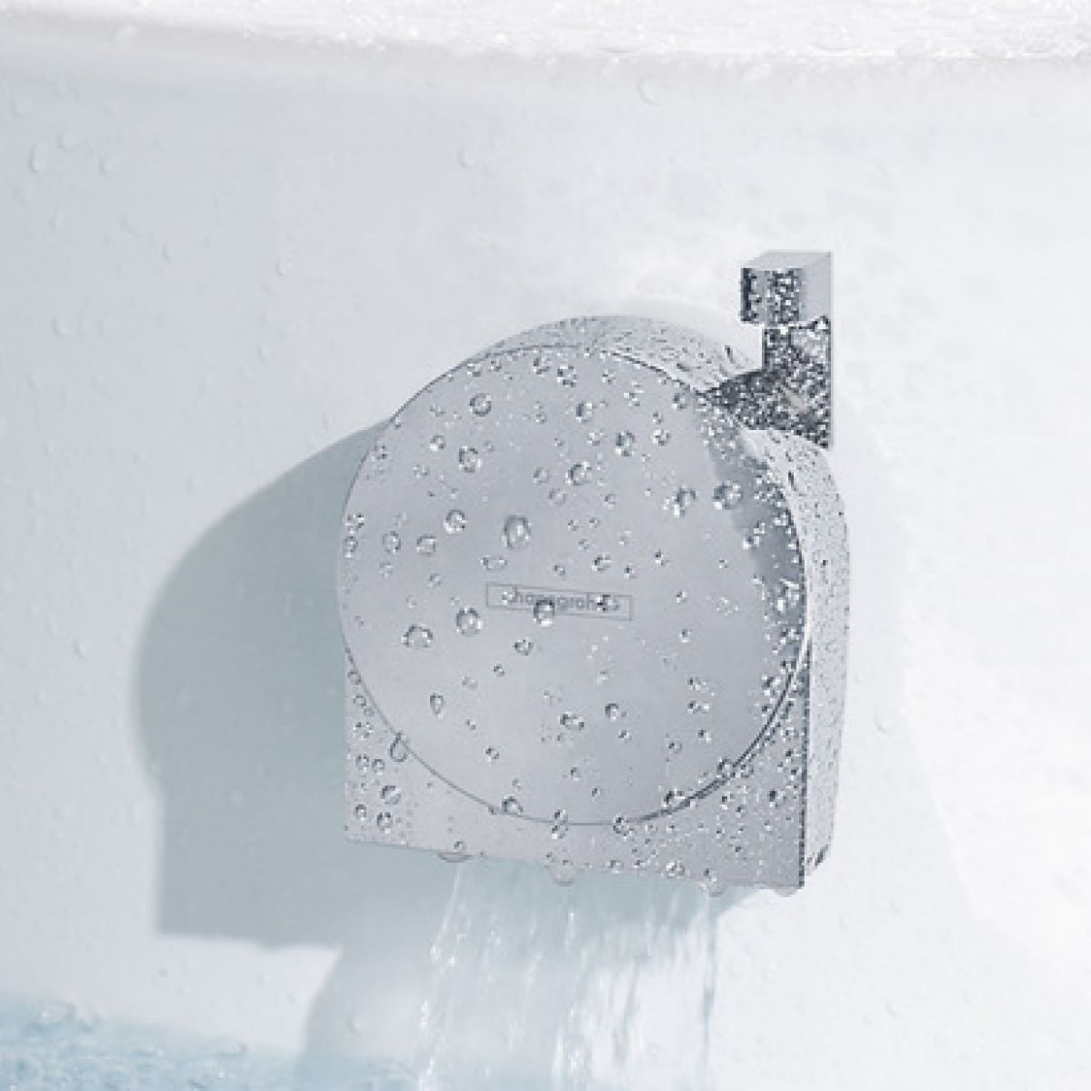 Hansgrohe Exafill S Bath Filler and Overflow with Waste : UK Bathrooms